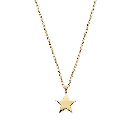 [ヴァンドーム青山] イエローゴールド AJVN154140YG K10 スター 星 ネックレス