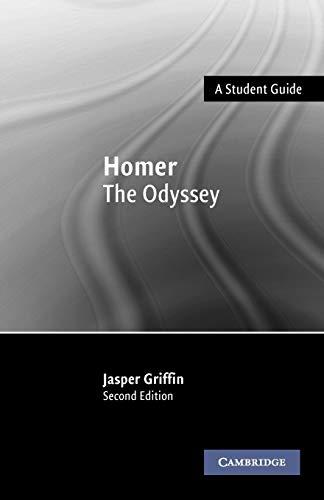 Homer: The Odyssey (Landmarks of World Literature (New))