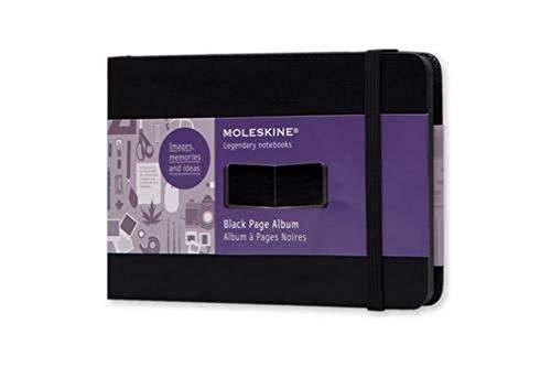 Moleskine Album a pages noires poche rigide noire-