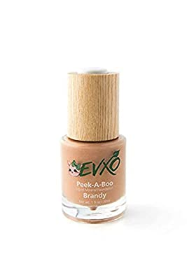 Natural Coverage Liquid Mineral Foundation Makeup - 90% Organic Ingredients, Gluten-Free, Vegan, Cruelty-Free, Non-Irritating for Sensitive Skin