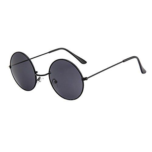 Wobang - Gafas de sol para hombre y mujer, unisex, vintage, con ojos de gato, a la moda, antirrayos UV, gafas de sol, gafas de protección para hombres y mujeres, estilo retro barato 623 Talla única