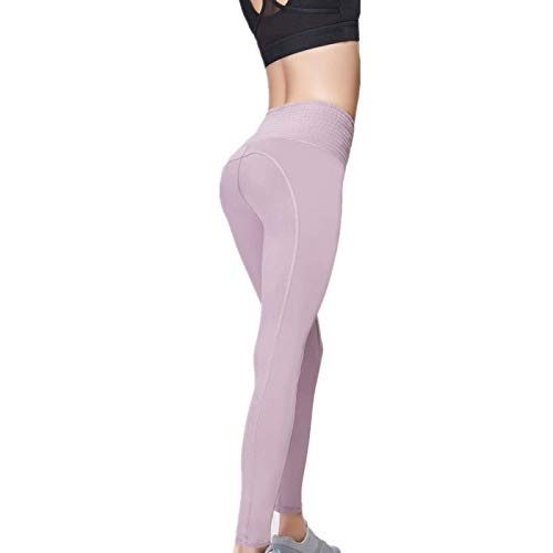 NIGHTMARE Leggings de Gimnasio Sexis para Mujer Pantalones de Pilates de Yoga Modal Super Suaves para Mujer Leggings Deportivos de Cintura Alta S
