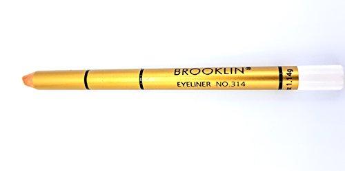 Brooklin - Lápiz ojos Color Blanco Nº314 duradero