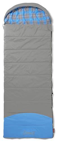 Coleman Schlafsack Basalt Single, XXL Deckenschlafsack Camping, warmer extralanger Herbst/Winterschlafsack, Outdoor und Indoor nutzbar, 225 x 80 cm, Komforttemperatur -3°C
