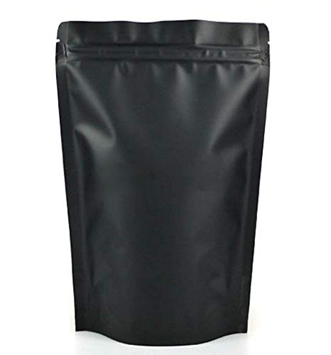 1 bolsa de embalaje mate de aluminio Mylar Zip Lock Mylar Pack bolsa para alimentos hierbas café proteína polvo té nueces