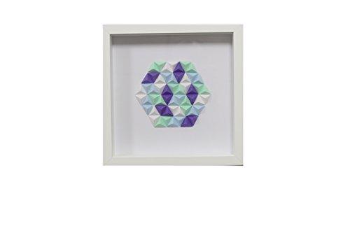 Cuadro de origami de papel