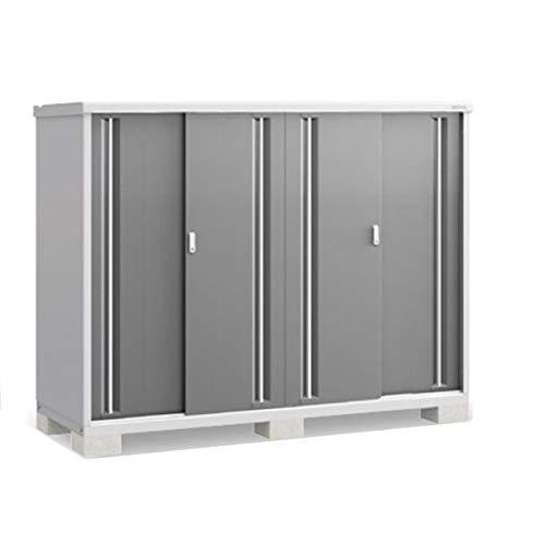 イナバ物置 MJX/シンプリー MJX-217DP 長もの収納タイプ 『屋外用収納庫 DIY向け 小型 物置』 PG(プレミアムグレー)