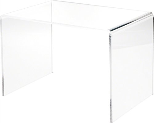 Plymor Clear Acrylic Rectangular Display Riser, 8' H x 12' W x 8' D...