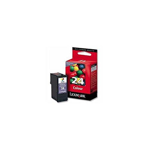 Lexmark Rückgabe-Druckpatrone Nr.24 Tinte 3-farbig 190 Seiten Z1410/Z1420/X3530/X3550/X4530/X4550