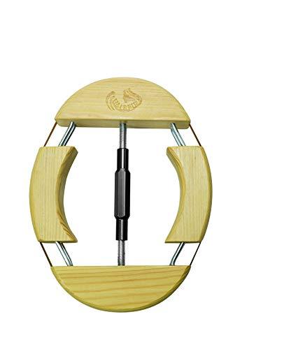 HAIBEIR 4-Wege-Hutspanner aus Holz, schwarz, für Erwachsene, Einheitsgröße von 7-1/2 bis 9-1/2, einfach und einfach zu bedienen