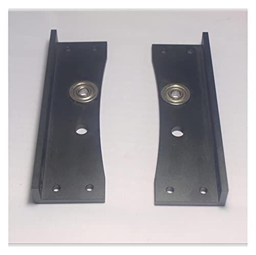 XINYE wuxinye Fit For Reprap Lulzbot TAZ 3D Printer Upgrade Metal Aluminum Alloy Frame Top Corners Kit Left Corner+right Corner Set