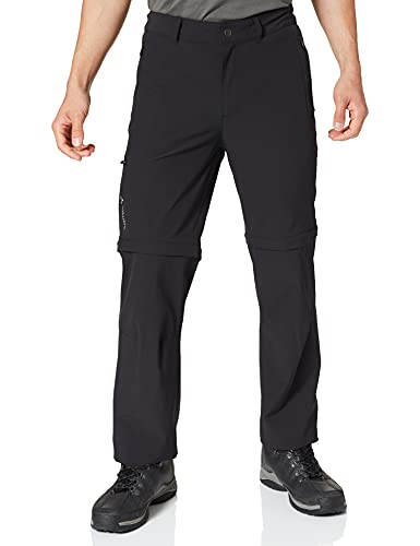 VAUDE Herren Hose Men's Farley Stretch ZO Pants, black, 48-Long, 42241