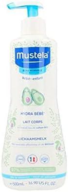 Mustela Hydra Bebe Body Milk 500 Ml, Almond