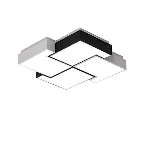 Techo de Luz LED Fixture Plaza Pasillo Moderno Iluminación PMMA Pantallas de Iluminación de Techo Lámpara de Montaje Empotrado for Comedor Cocina