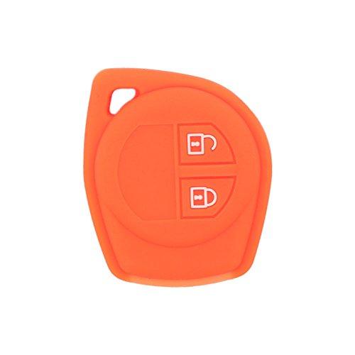 BROVACS - Carcasa Protectora de Silicona para Llave de Control Remoto Suzuki de 2 Botones FobCV4545
