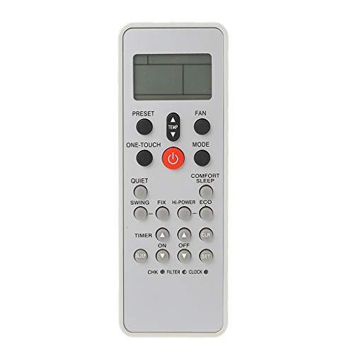 Xuebai Telecomando sostitutivo per condizionatore d'Aria Telecomando Universale Toshiba WC-L03SE