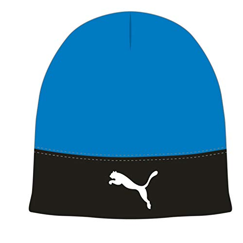PUMA Liga Beanie Gorro, Unisex Adulto, Electric Blue Lemonade Black, OSFA
