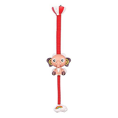 werty Baby Bath Toys Electric Elephant Animal Sucker Electric Shower Rain Head Children Bathing Time Game Toy