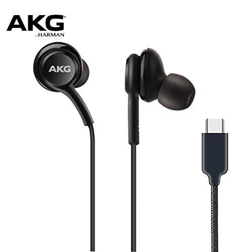 Auriculares AKG IG955, 3,5 mm, tipo C, con micrófono y mando a distancia, para Samsung Note10 / Note10 + S8 S9 S10 / Xiaomi/Huawei/Apple tipo-C Negro