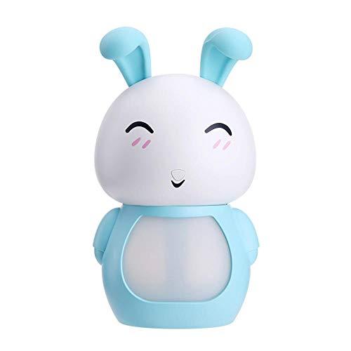 TangLong Humidificador de aire USB de 200 ml Difusor de aroma ultrasónico Purificador de aire con luz LED Máquina de niebla para el hogar-blue