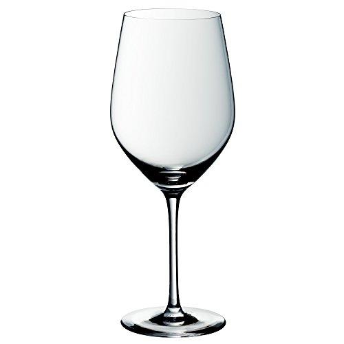WMF easy Plus Bordeaux wijnglas, 630ml, kristalglas, vaatwasmachinebestendig, transparant