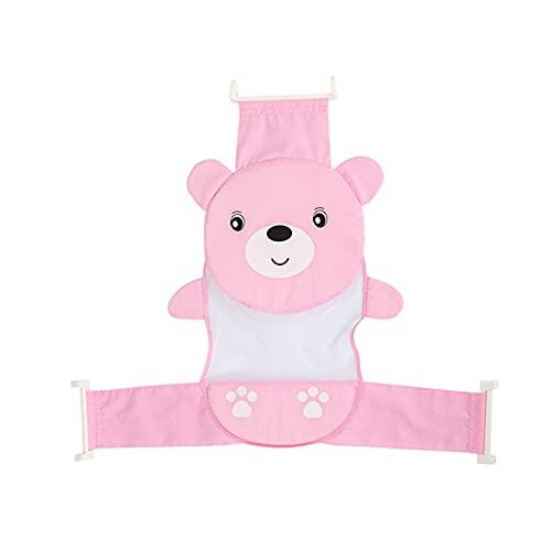BOENTA Baby Badewannensitz Badewannensitz Baby Neugeborenen Baby Bad Baby Kissen Neugeborenen Bad Baby Kissen Für Neugeborene Baby Bad Pink,One Size