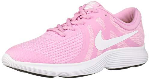 Nike Revolution 4 (GS), Zapatillas de Entrenamiento para Niñas, Rosa (Pink Rise/White Pink Foam/Black 603), 38 EU