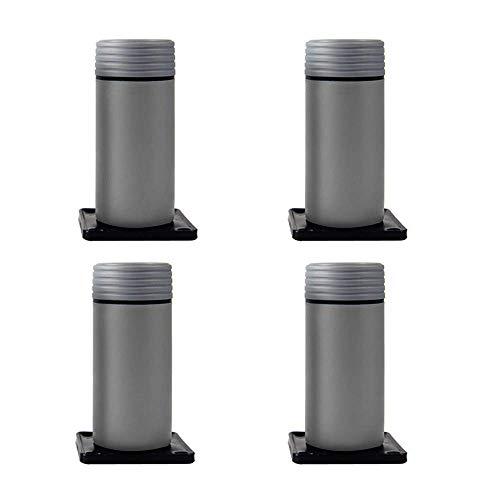 ZXL Meubelpoten verstelbaar 4 poten van kunststof poten voor bijzettafels poten voor bijzettafel wit Mobile Mute