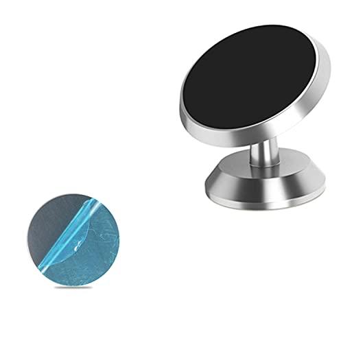 BAWAQAF Soporte magnético para teléfono móvil, para iPhone X Car Dashboard Soporte de montaje de celda, imán adhesivo de pared