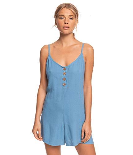 Roxy Damen Coconut Sunshine Romper Jumpsuit, Blue Heaven, X-Groß