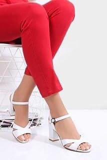 TARÇIN Hakiki Deri Klasik Günlük Kadın Topuklu Ayakkabı TRC71-0038