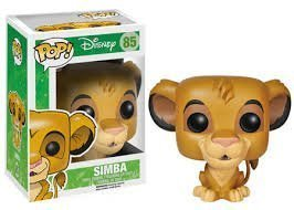 Funko New The Lion King Simba 85 Pop! Vinyl Figure Toy Action Disney by