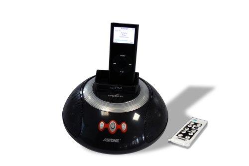 Astone - Base de Carga con Altavoces para iPod, teléfonos móviles Nokia...