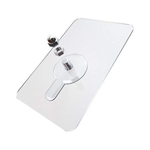 GmgodToallero, autoadhesivo para colgar clavos de pared con tornillo adhesivo sin taladrar para baño o cocina