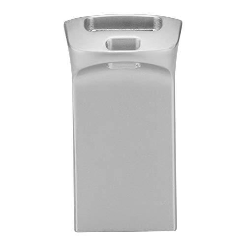 Diyeeni Type C USB 3.0-adapter, USB-stekker op aansluiting, van boven naar beneden, links naar rechts, voor harde schijf, behuizing van harde schijf, mobiele telefoon, tablet enz. (goud/grijs/zilver), zilver