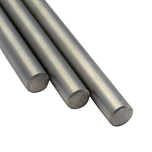 Edelstahl Rundstahl V2A Oberfläche geschliffen. FRACHTFREI. Rundeisen Stab Stabstahl Länge 100 cm Abmessungen Ø 8mm