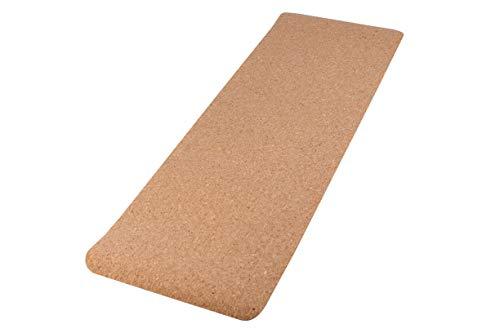 The Heiwa Eco Friendly Cork Yoga Mat - Waterproof, Anti-slip, Durable and Portable...