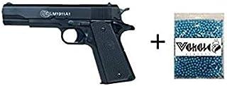 COLT® Lote/Pack NFL Airsoft Pistola 1911 a1 h.p.a. (Joule <0,5) con un tobogán de Metal MAS 1000 Bolas 0.12GR PVC 6mm Valhalla