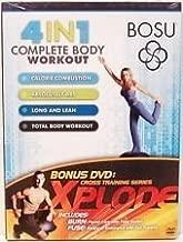 Bosu DVD 4 in 1 Complete Body Workout by Bosu