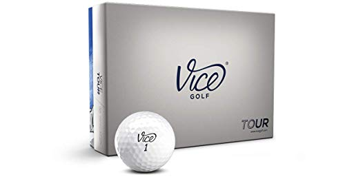 Vice Tour Golf Balls, White (One Dozen)