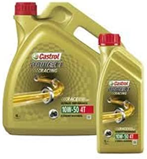 CASTROL POWER1 Racing 10W50 Recommended for Bajaj Pulsar SS400
