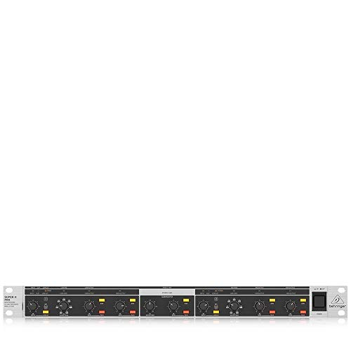 Behringer Super-X Pro Cx2310 V2 High Precision Stereo 2 Way/Mono 3 Way Crossover With Subwoofer Output