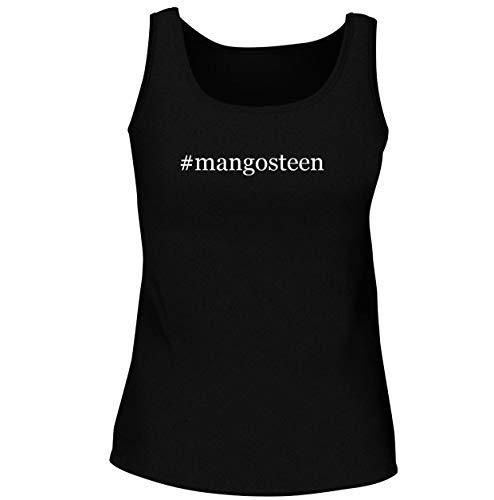 #mangosteen - Women's Soft & Comfortable Hashtag Tank Top, Black, Medium