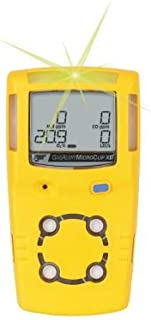 BW Technologies/Honeywell Analytics Gas Alert MicroClip Multi-Gas Detector, O2, LEL, H2S, CO