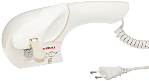 Tefal 8535.31 Elektrischer Handdosenöffner, weiß/greige