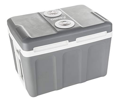 CAMRY Tragbarer Kühler 45 L Grau Mehrfarbig One Size