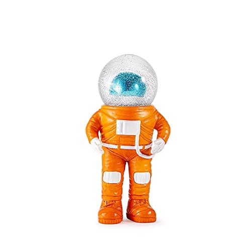 DONKEY Summerglobe | The Marstronaut | Deko Figur mit Schneekugel im Astronauten Look, 18 cm groß