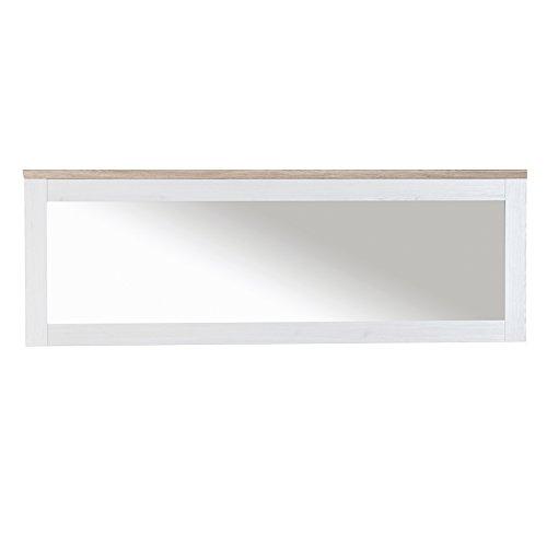 Stella Trading Romance Spiegel, Holzdekor, Sibiu Lärche-San Remo, ca. 186 x 63 x 4 cm