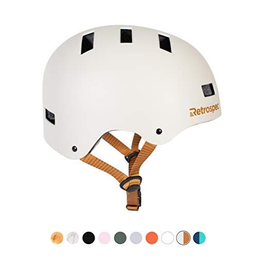 Retrospec CM-1 Bicycle / Skateboard Helmet for Adult CPSC Certified Commuter, Bike, Skate