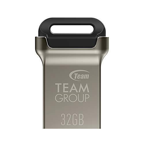Team USBメモリ 32GB USB3.2(3.1/3.0) キャップレス コンパクト 亜鉛合金筐体 正規品